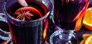 Mulled wine for potency